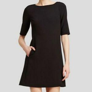 Theory Jace Little Black Dress with Pockets, Sz 0